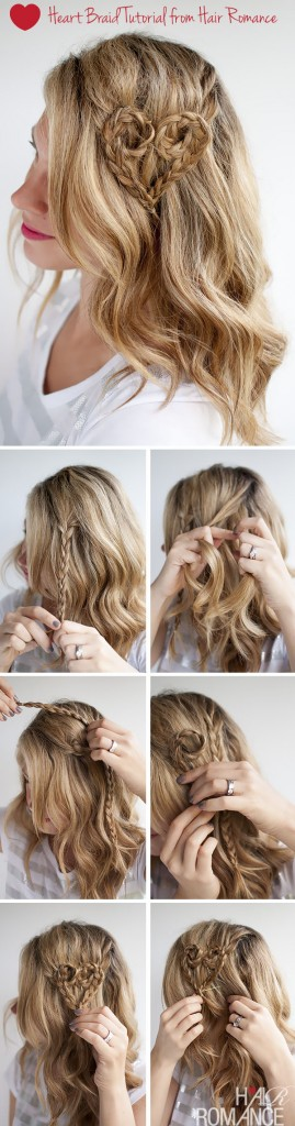 Heart Braid Hairstyle