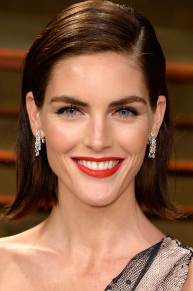 Hilary Rhoda Short Side Part