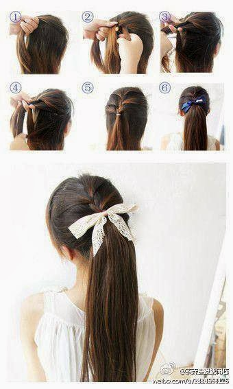 Hot Ponytail Hairstyle