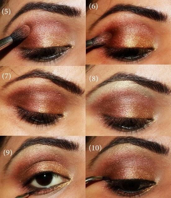 Super 20 Beautiful Makeup Tutorials For Brown Eyes Pretty Designs Short Hairstyles For Black Women Fulllsitofus