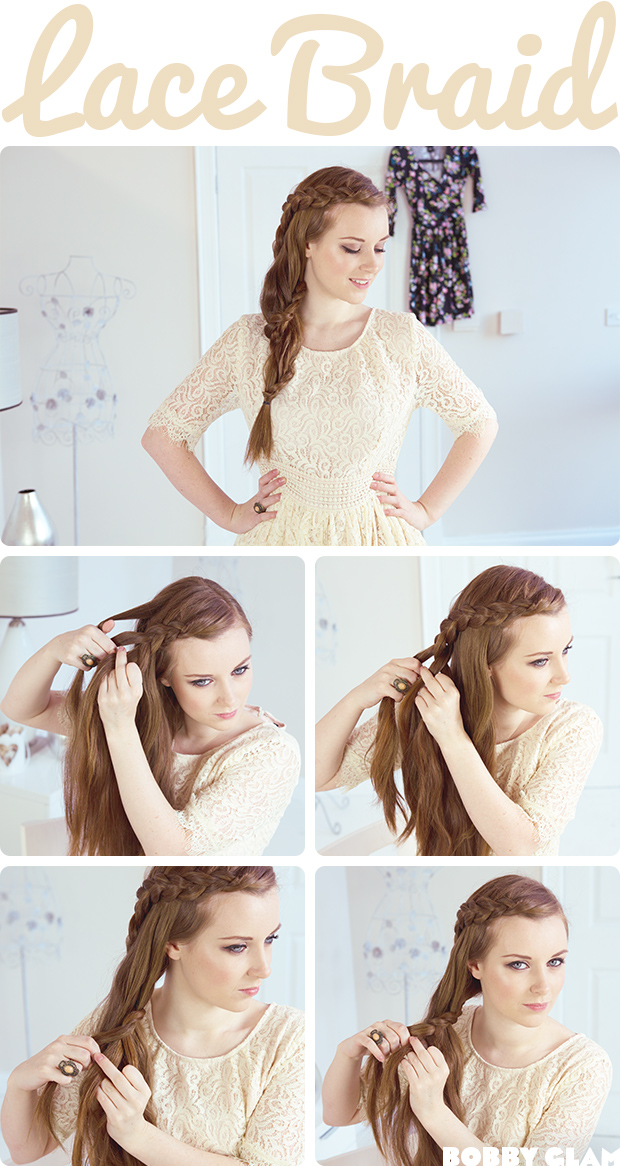 Lace Braid Hair Tutorial