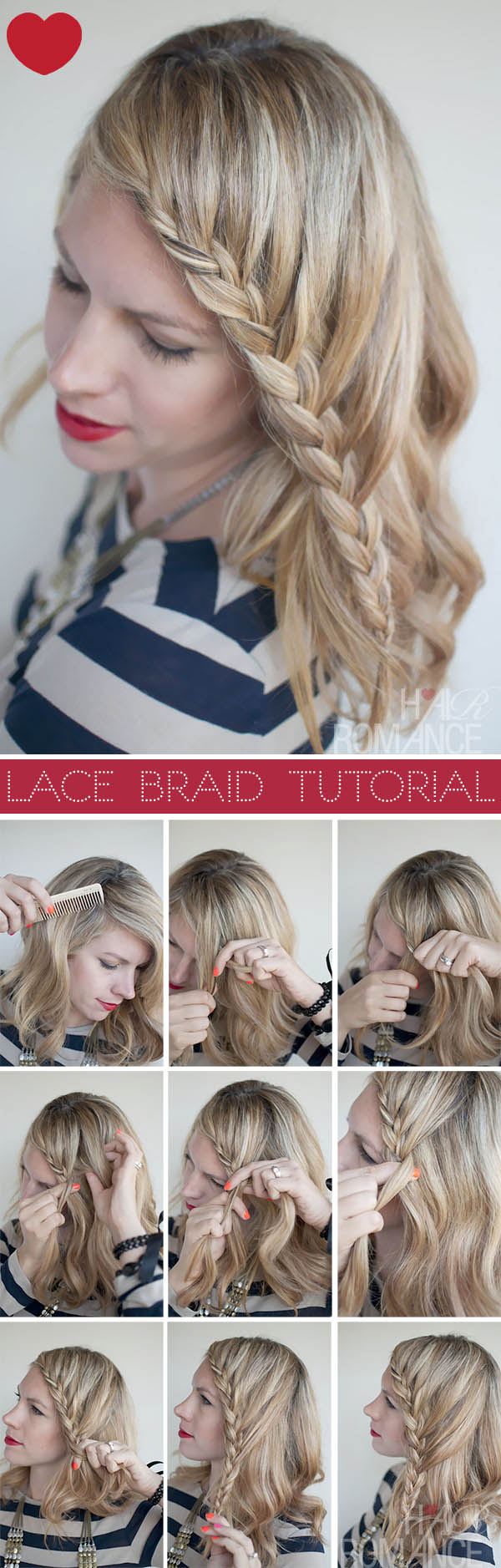 Surprising 20 Most Beautiful Braided Hairstyle Tutorials For 2014 Pretty Short Hairstyles Gunalazisus