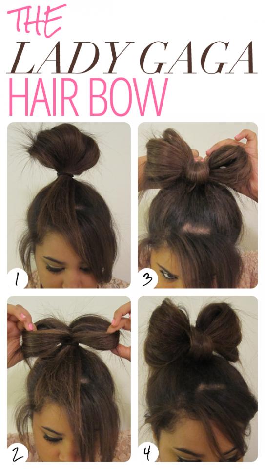 Admirable 13 Hair Tutorials For Bow Hairstyles Pretty Designs Short Hairstyles Gunalazisus