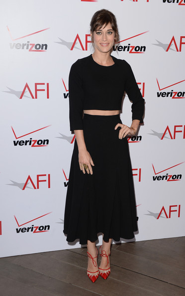 Lizzy Caplan Long Skirt/Getty Images