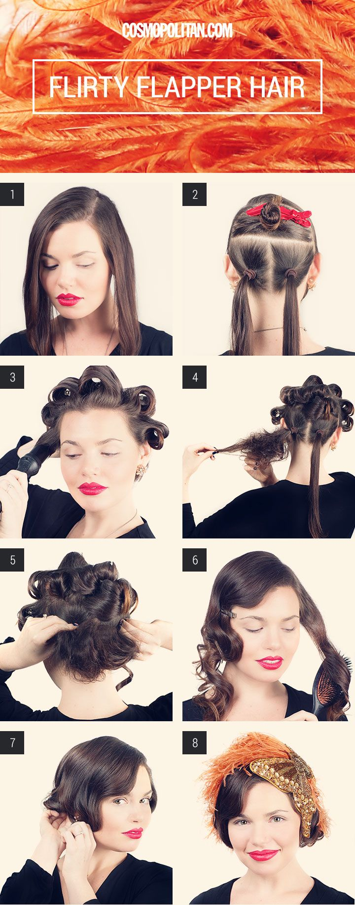 How to Make Long Hair Short: Faux Bob Hair Tutorials | Pretty Designs