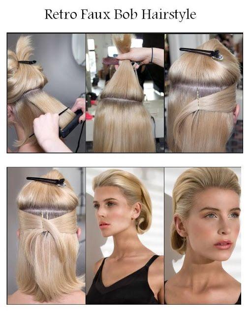 Какую прическу сделать на короткие волосы до плеч