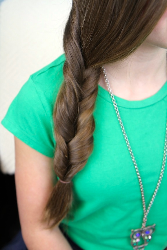 Loose Braided Hairstyle