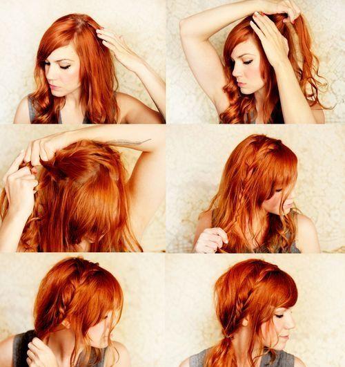 Pleasing How To Make A Boho Braid Boho Braided Hair Tutorials You Must Short Hairstyles Gunalazisus