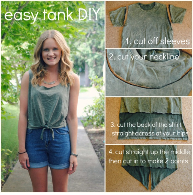 43d3aae40 12 DIY Tank Top Tutorials - Pretty Designs