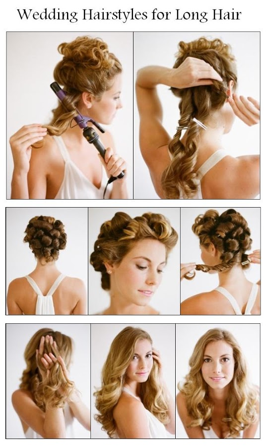 Make A Wedding Hairstyles For Long Hair