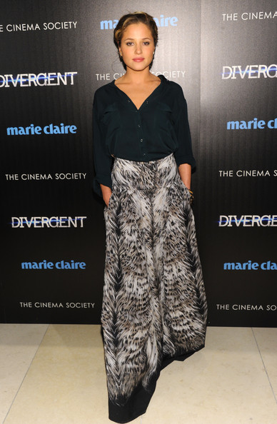 Margarita Levieva Long Skirt/Getty Images
