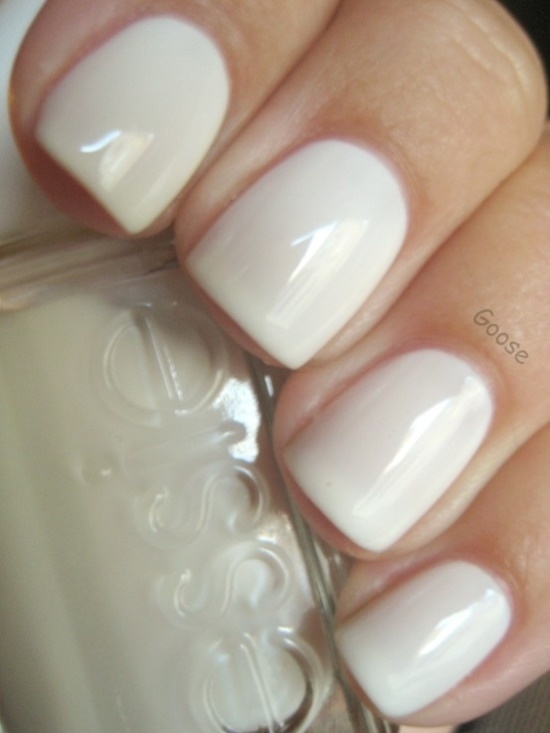 Natural White Nails