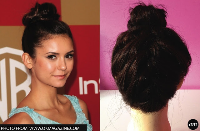 Nina Dobrev Inspired Hair Tutorial