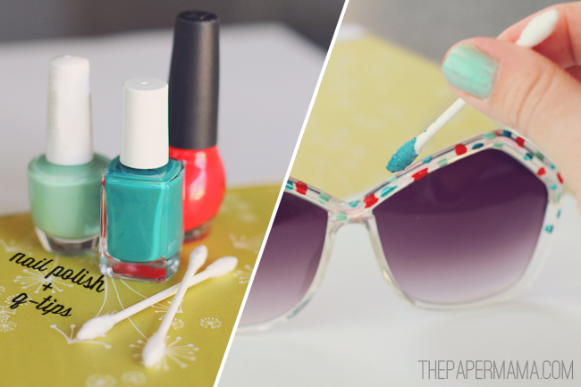 ultra pretty diy crafts with nail polish pretty designs