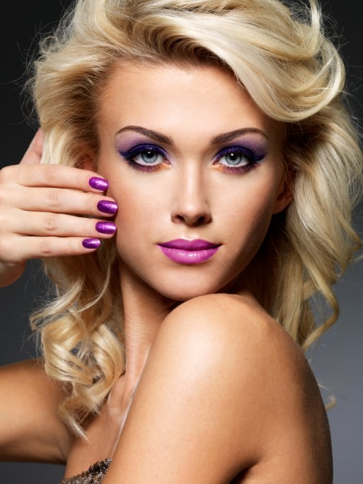 party makeup 15 pink and purple makeup ideas pretty designs. Black Bedroom Furniture Sets. Home Design Ideas