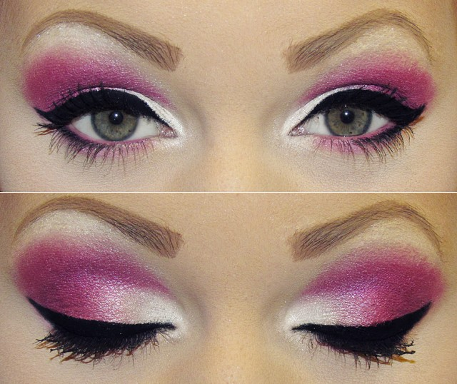 Party Makeup| Pink and Purple Makeup Ideas