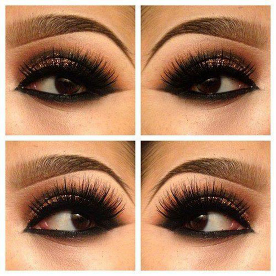 15 Charming Night Makeup Ideas - Pretty Designs