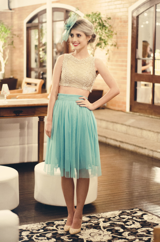 Peal Midi Skirt Outfit