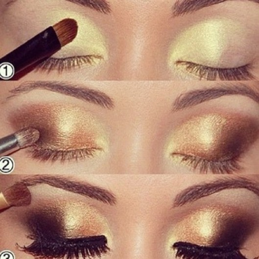 Perfect Golden Makeup Tutorial