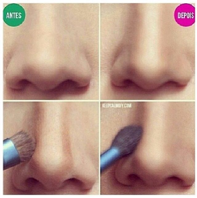 How To Make Nose Tip Smaller Naturally