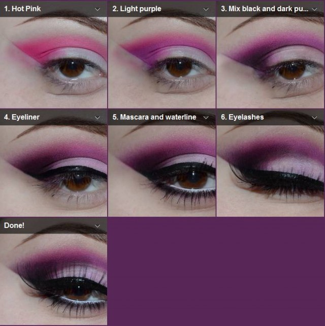 Perfect Pink and Purple Makeup Tutorial