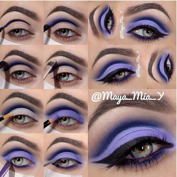 Perfect Purple Makeup Tutorial for Party