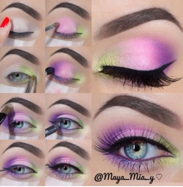 Perfect Purple Makeup Tutorial