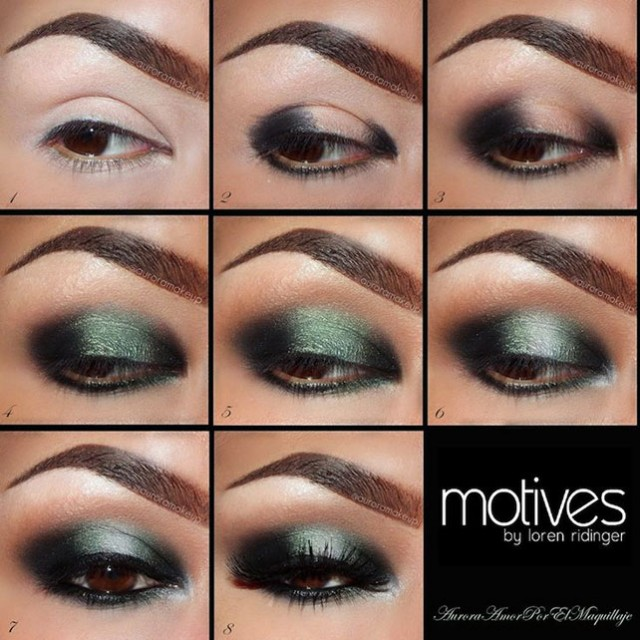 Perfect Smoky Green Makeup Tutorial