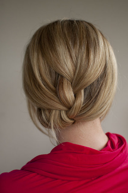 Pin tucked braid via