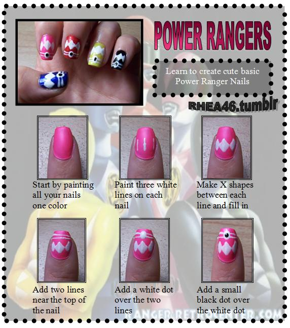 Power Ranger Nails