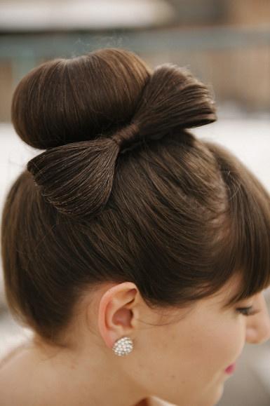 Cool 13 Hair Tutorials For Bow Hairstyles Pretty Designs Short Hairstyles Gunalazisus