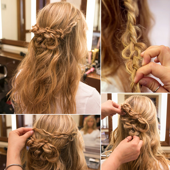 Romantic Braided Hairstyle
