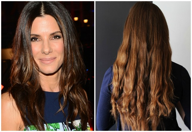 Sandra Bullock – Beach Waves