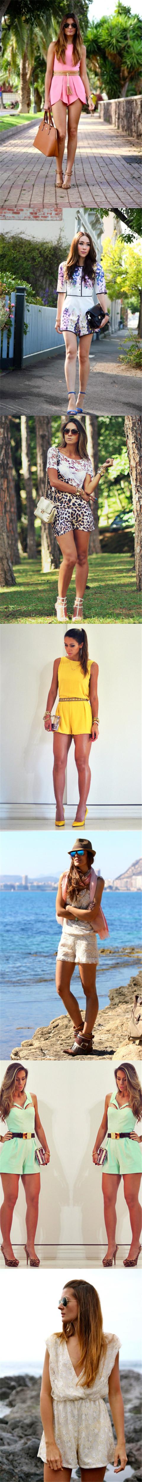 Short Jumpsuit Outfit Ideas