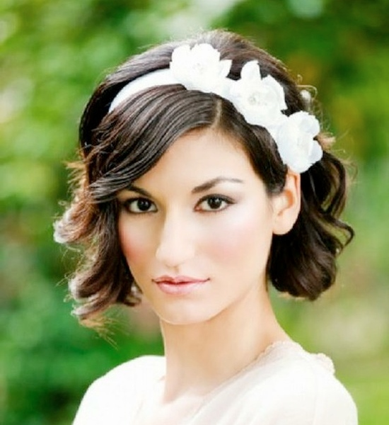 Wedding Hairstyles for Short Hair You Must Love - Pretty Designs