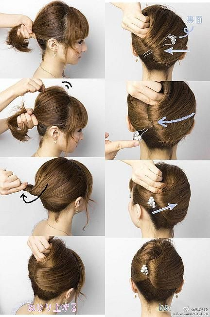 15 Simple and Easy Hairstyles With Useful Tutorials