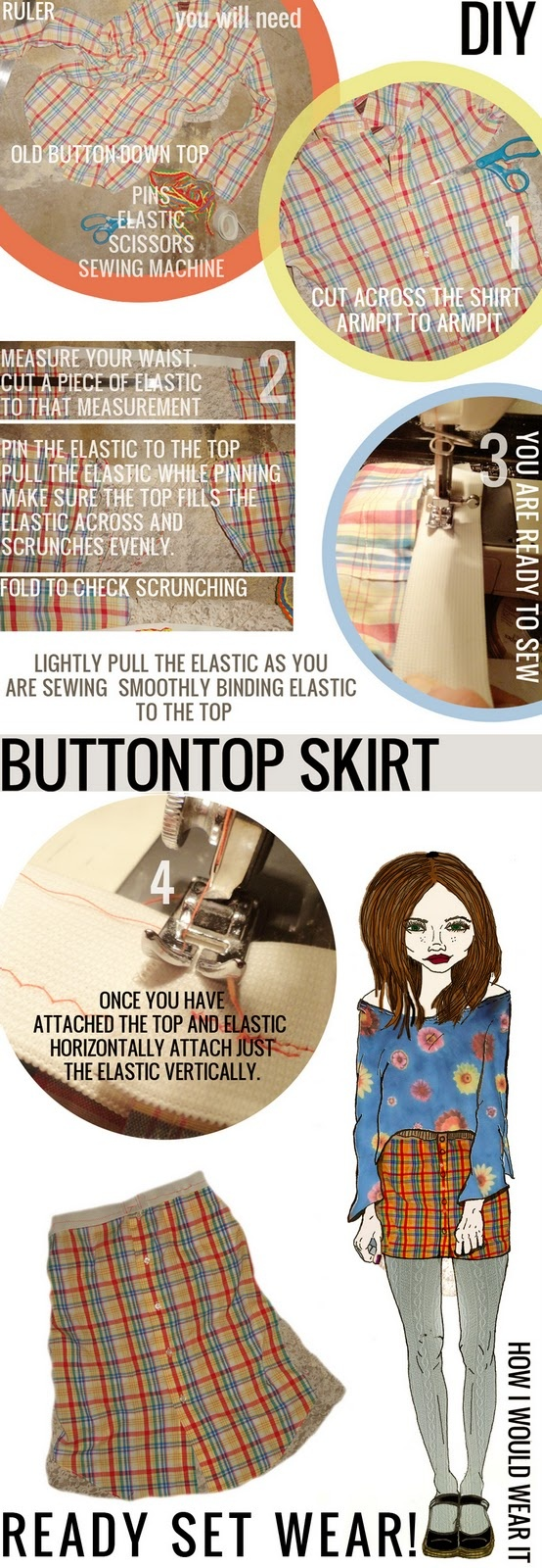 Skirt from Shirt