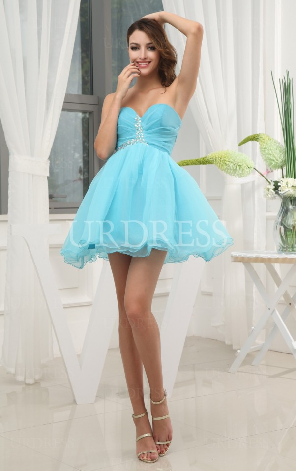 Sky Blue Ball Gown