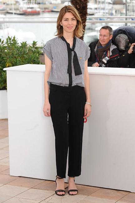 Sofia Coppola Gingham Shirt/Elle