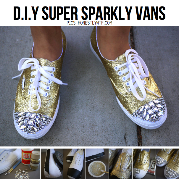 Diy projects make everything awesome diy tutorials for Diy shoes design
