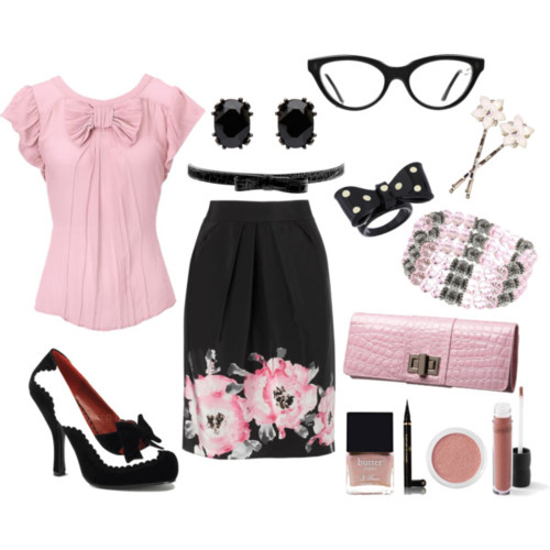 Spring Polyvore Combinations in Baby Pink: Pretty OL