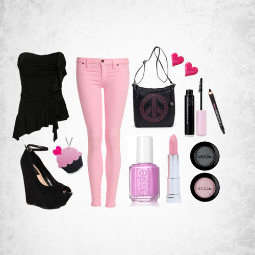 Spring Polyvore Combinations in Baby Pink: Sweeties