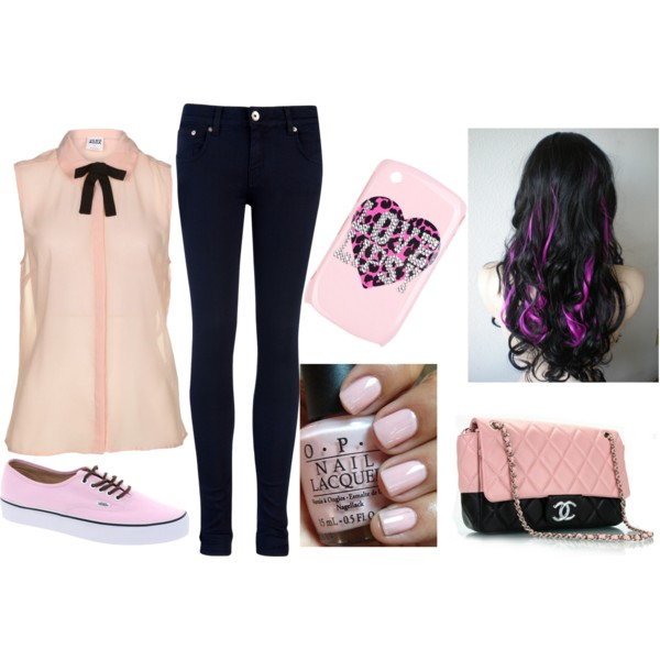 Spring Polyvore Outfits In Baby Pink Pretty Designs