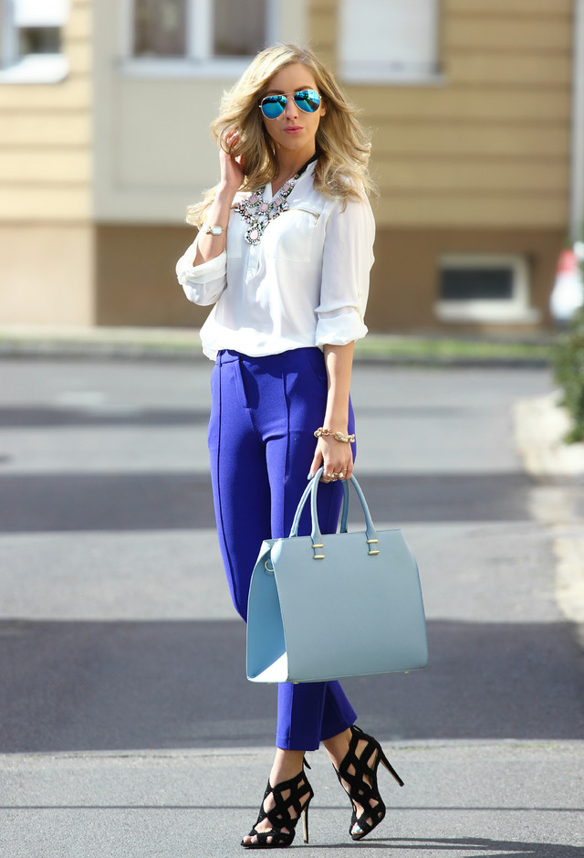18 Stylish Street Style Outfit Ideas with Blouses