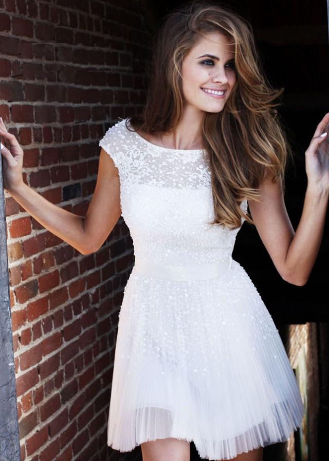 Sweet White Mini Dress