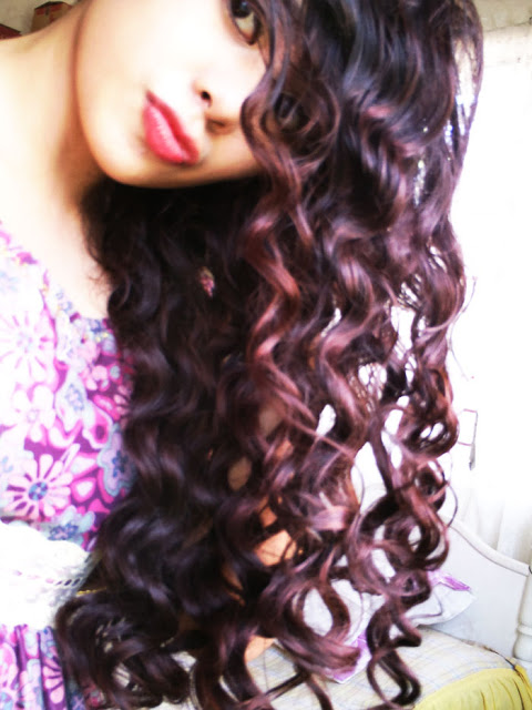 Taylor Swift wavy curly hair tutorial