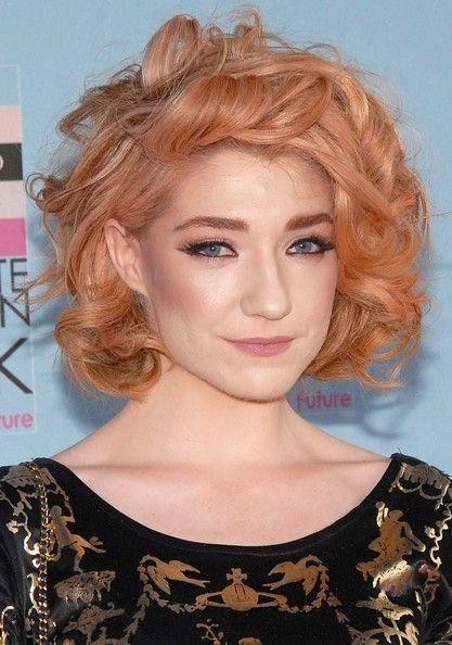 Textured Short Curls for Mature Women