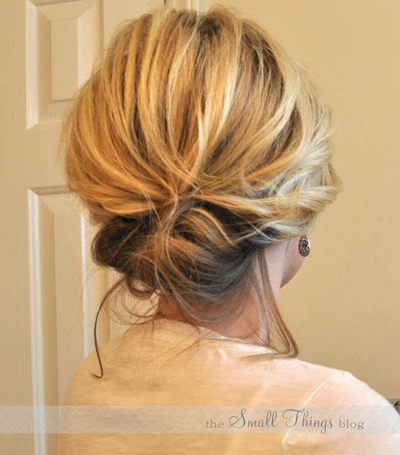 The Chic Updo via
