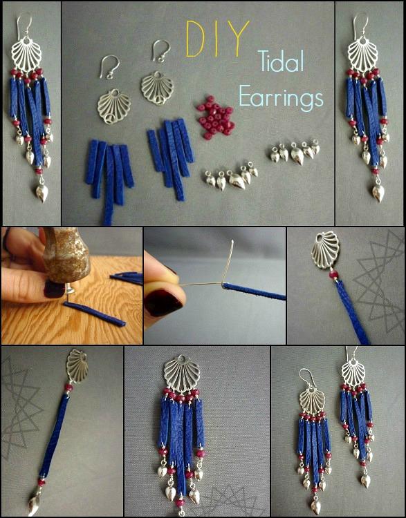 Tidal Earrings