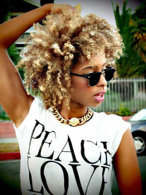 Curly hair - Trendy Short Hairstyles for 2014 via